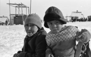 Qullissat 1964-1970. Foto Bo Thuesen