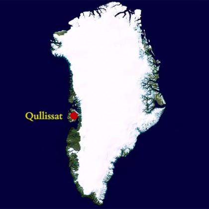 Qullissat i Grønland